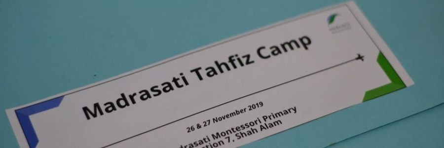 Madrasati Tahfiz Camp 1.0
